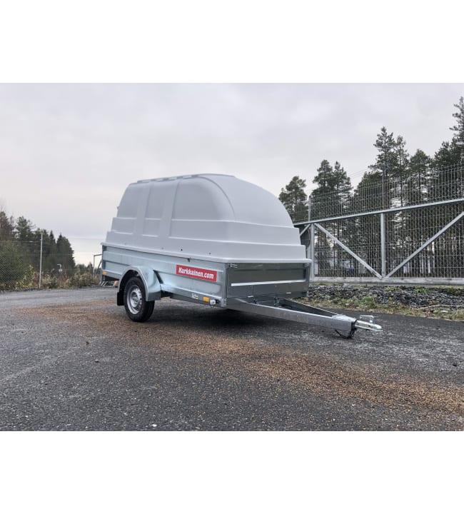 Peräkärry CS270 140x270cm kipillä