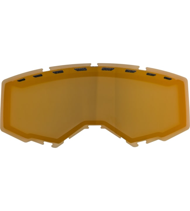 Fly Racing Focus Snow Dual Lens With Vents Polarized Orange Mirror/Smoke linssi