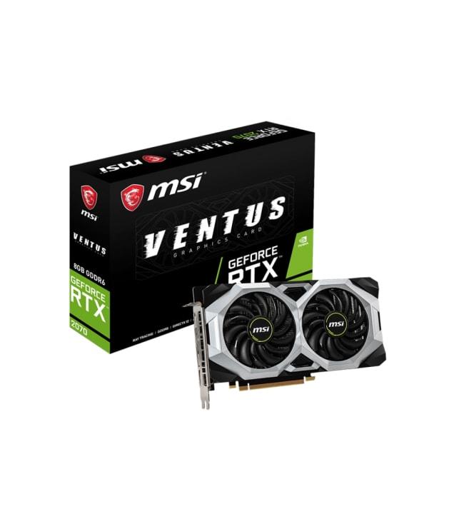 MSI GeForce RTX 2070 Ventus 8G 8GB näytönohjain
