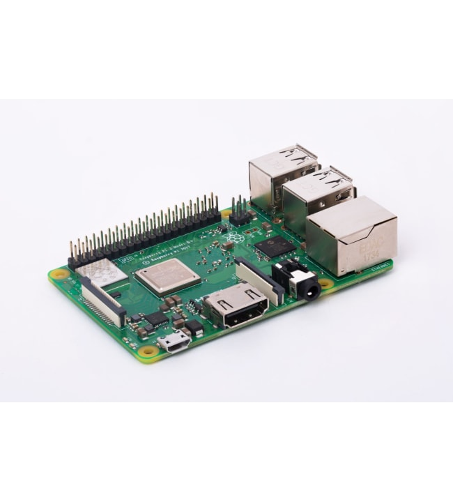 Raspberry Pi 3 Model B+ Premium Kit yhden piirilevyn tietokone
