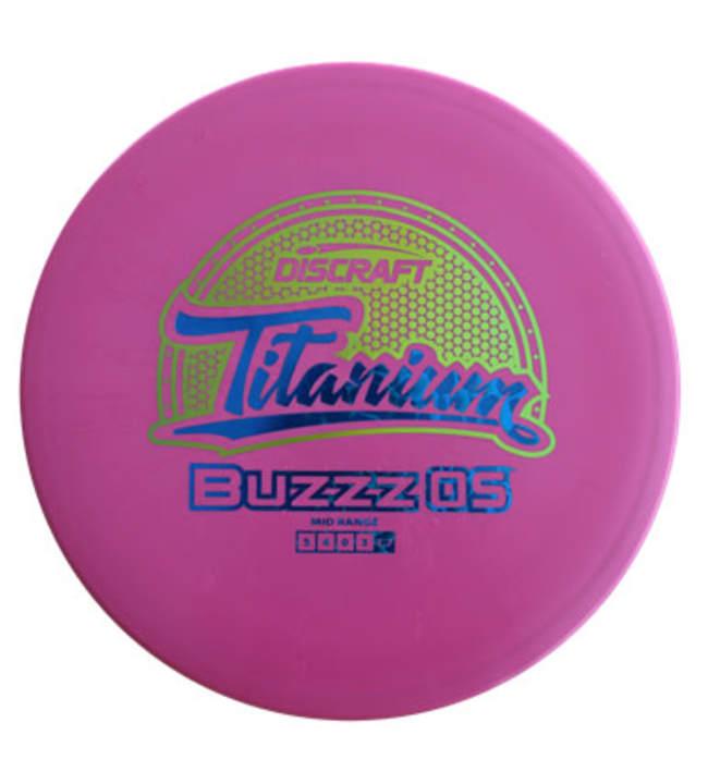 Discraft Buzzz OS Titanium midari
