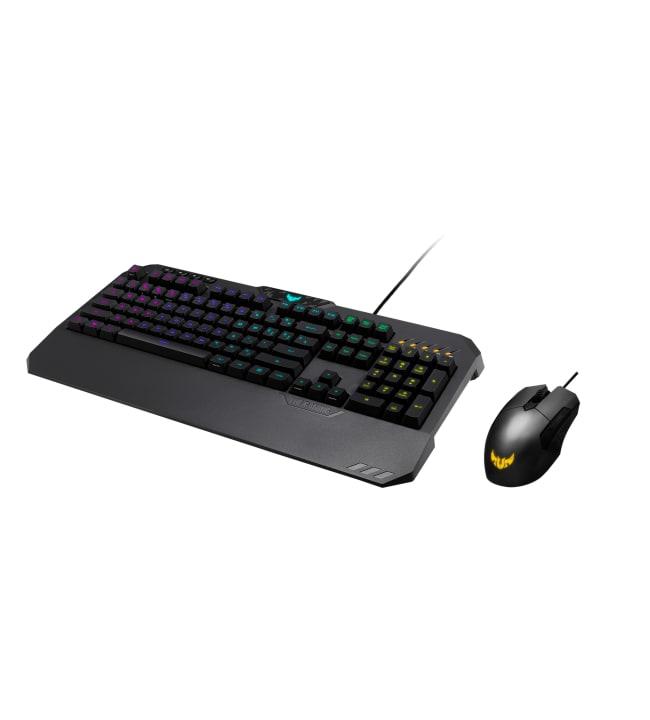 Asus TUF Gaming Combo pelinäppäimistö ja hiiri