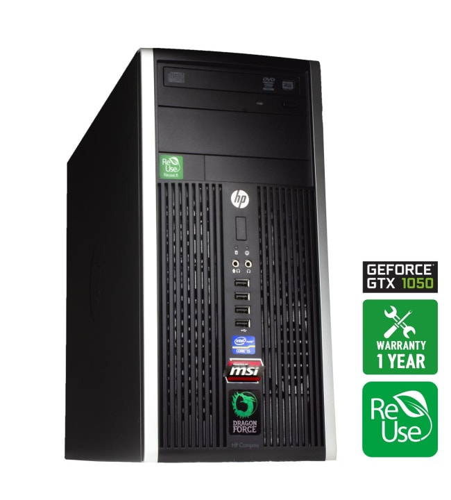 ReUse Dragon Force 3 HP Compaq 8200 Elite Minitower pelitietokone