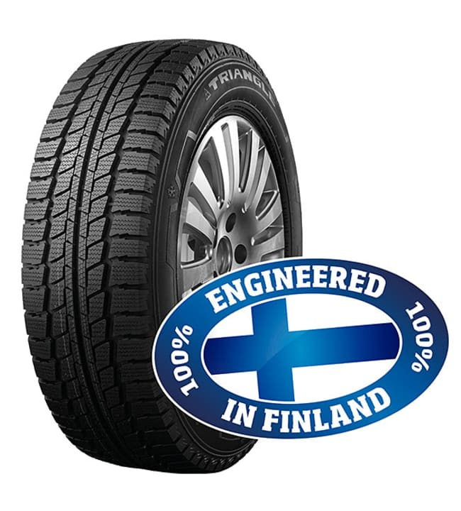 Triangle SnowLink Van -Engineered in Finland- 205/65-16C talvirengas