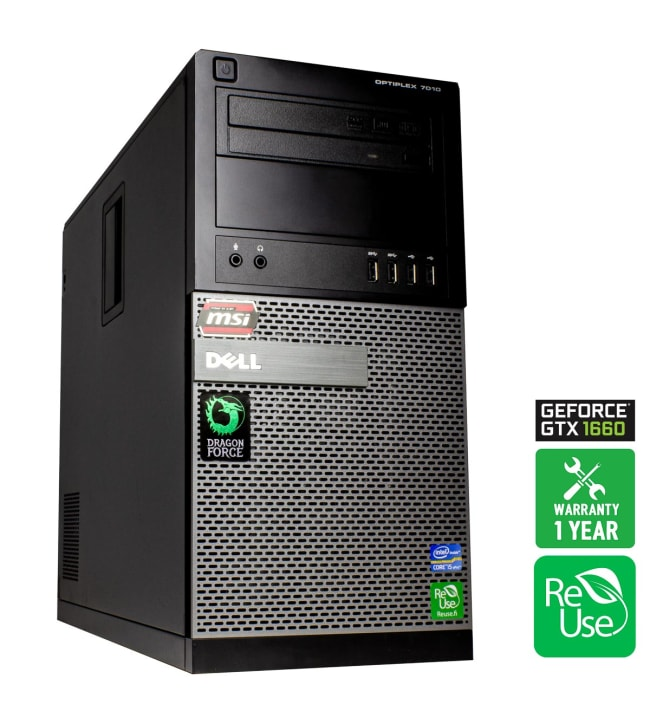 ReUse Dragon Force 1 Dell OptiPlex 7010 pelitietokone