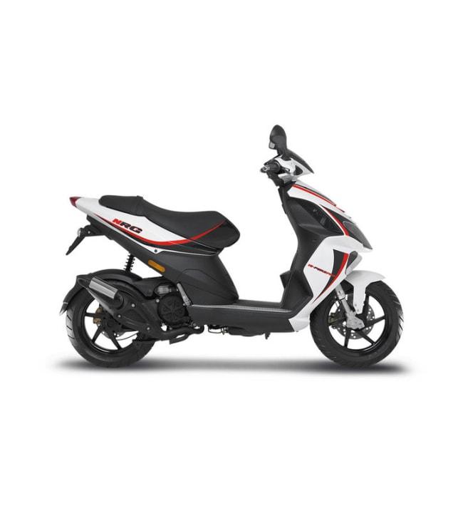 Piaggio NRG 50 valkoinen skootteri