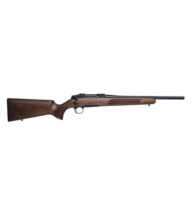 Steel Action HS .308 pähkinä LUX II suoravetolukko kivääri