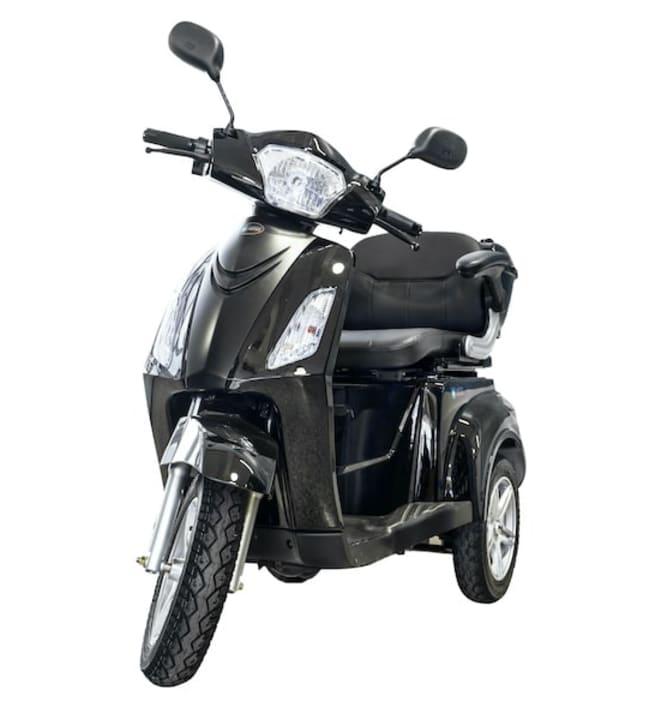 Kontio Motors Silverfox Premium musta senioriskootteri