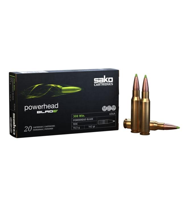 Sako .308 Powerhead Blade 656A 10,5 g 20 kpl kiväärinpatruuna