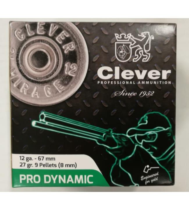 Clever Pro-Dynamic BuckShot 12/67 27 g 25 kpl haulikonpatruuna