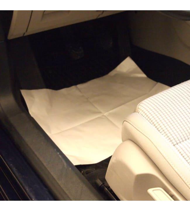 KH 38x50cm 250kpl kertakäyttöinen auton matonsuoja