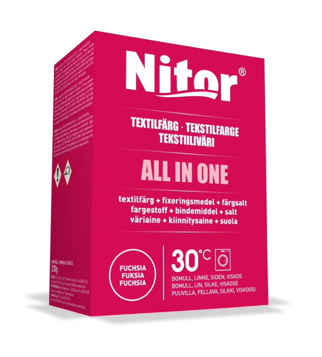 Nitor All in One 230 g väripakkaus
