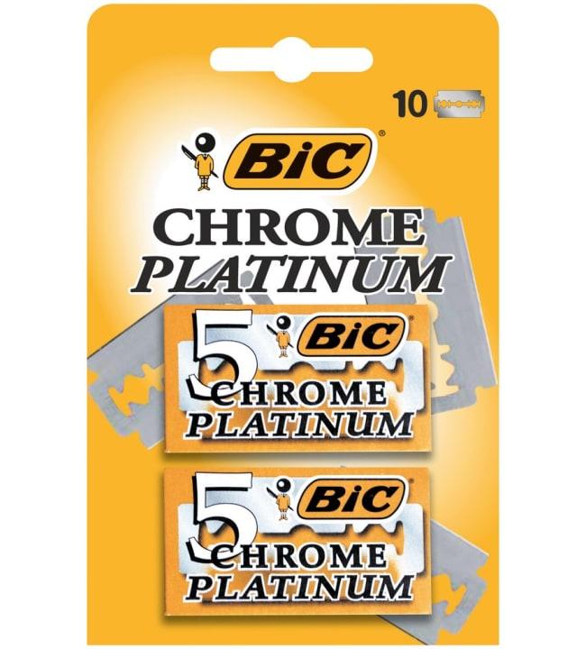 BIC Chrome Platinium 10 kpl partaterät