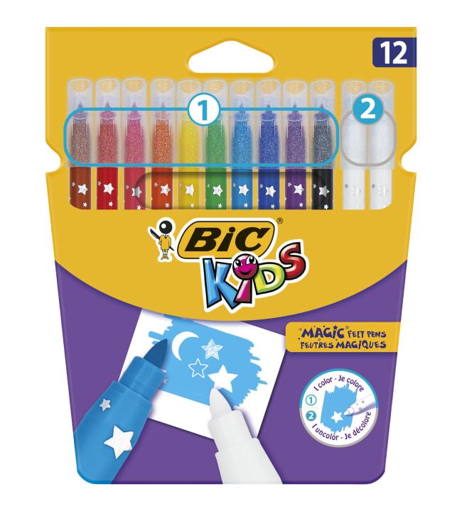 BIC Kids Colour & Erase 12kpl huopakynät