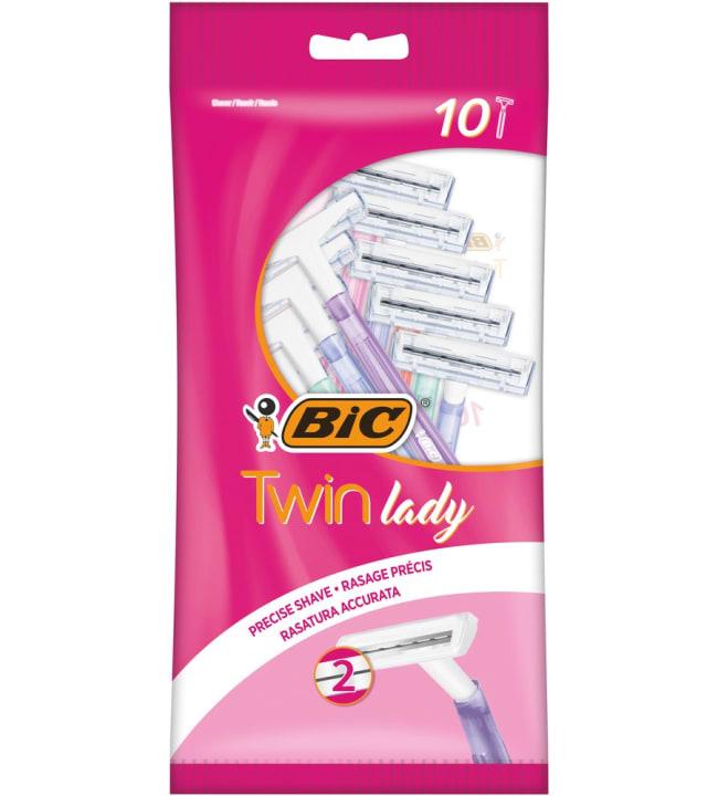 Bic Twin Lady 10 kpl/pss varsiterät