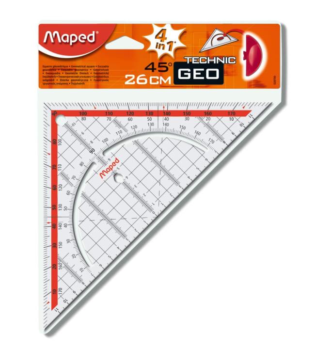 Maped 25 cm geokolmio/astemitta