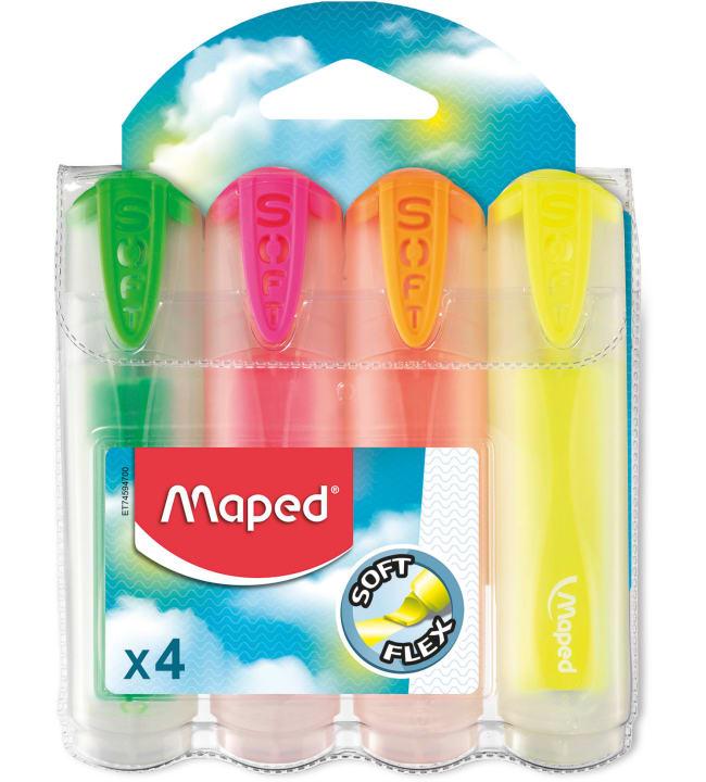 Maped Soft korostuskynät