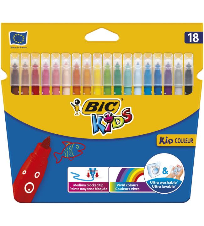 BIC Kids Kid Coleur 18 kpl huopakynät
