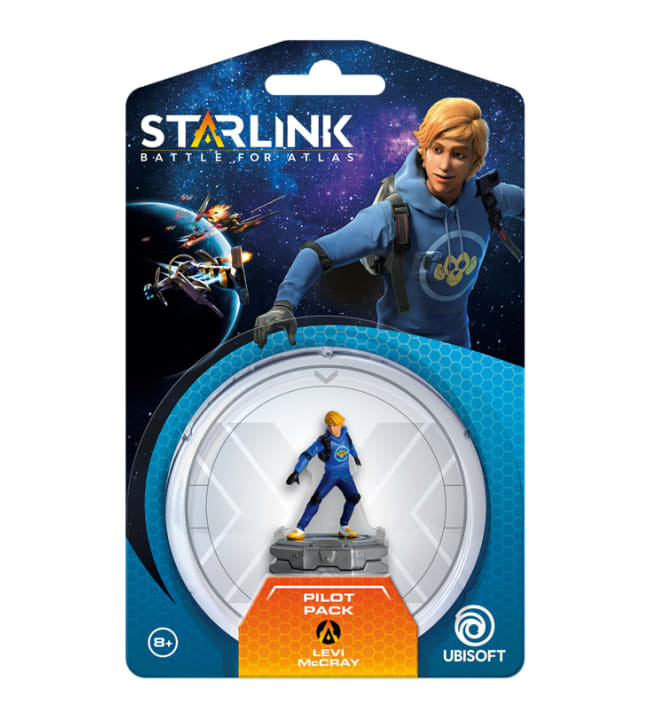 Starlink: Battle for Atlas Pilot Pack Levi McCray pelihahmo