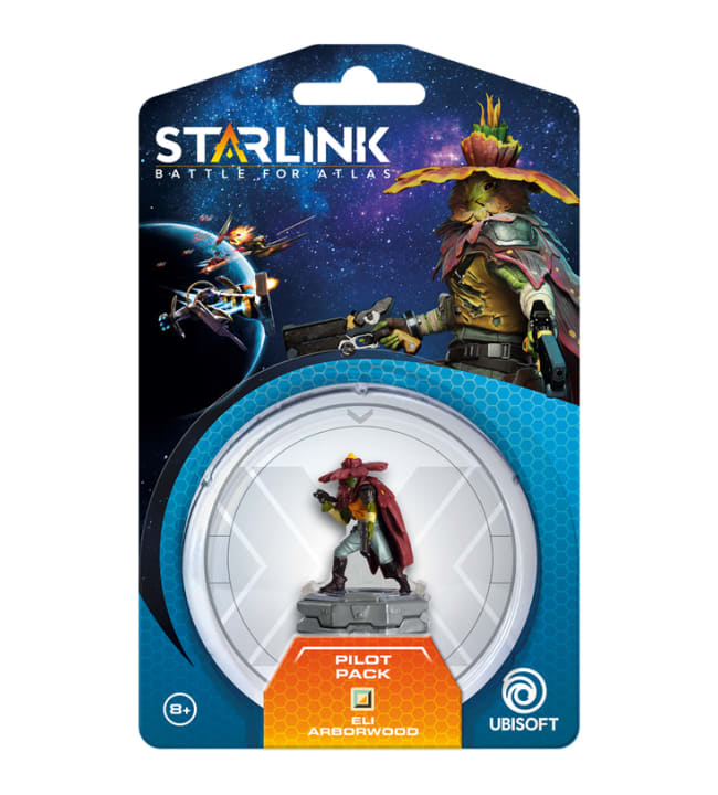 Starlink: Battle for Atlas Pilot Pack Eli Arborwood pelihahmo