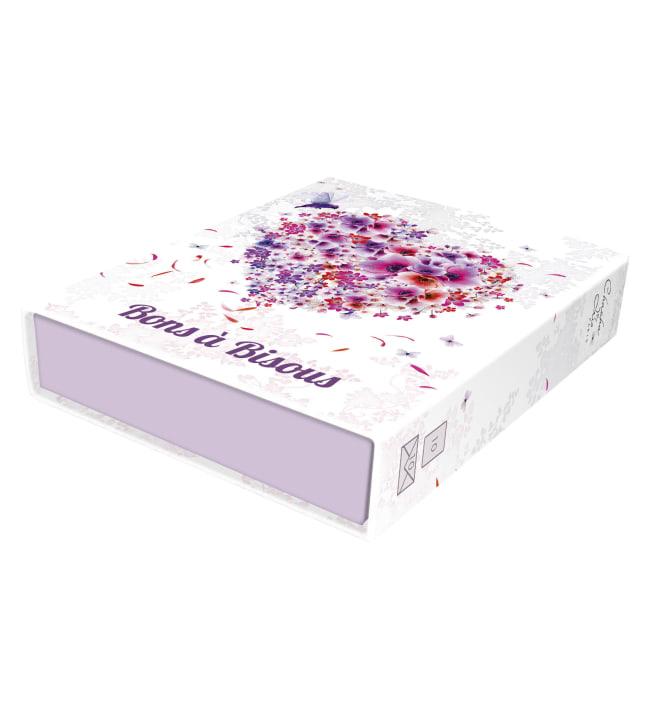 Chacha Love Kiss Box 10 korttia + kirjekuoret