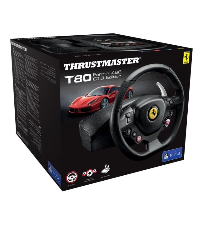 Thrustmaster T80 Ferrari 488 GTB Edition ratti ja polkimet