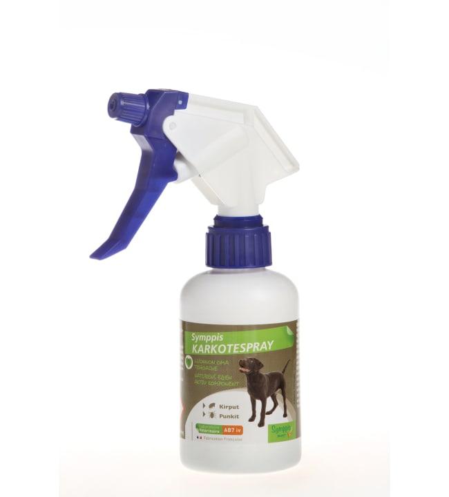 Symppis 250 ml koiralle punkki-/hyönteiskarkotespray