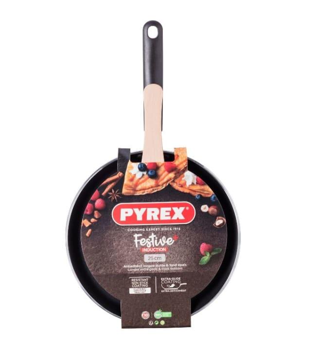 Pyrex Festive+ Crepe 25cm ohukaispannu