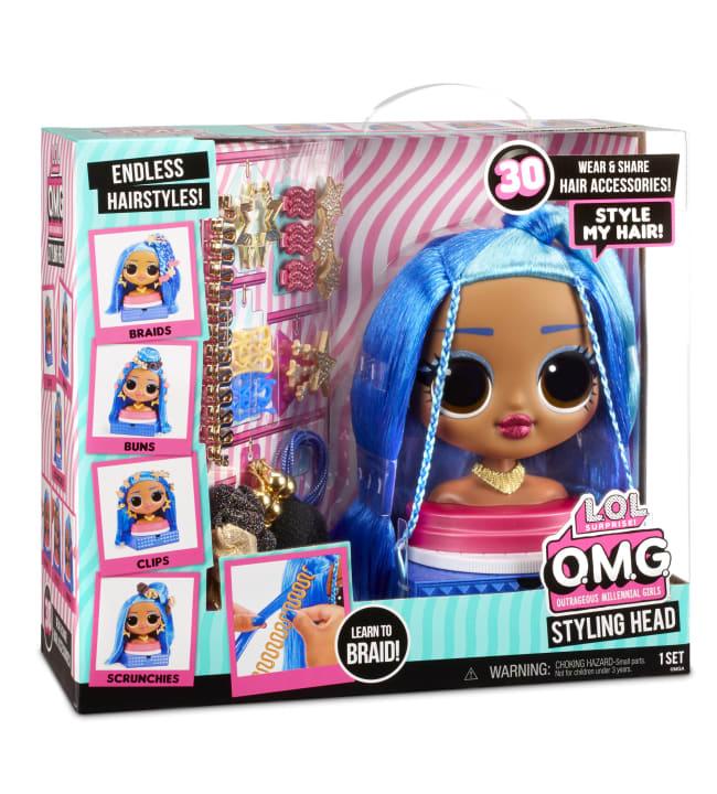 L.O.L. Surprise OMG Styling Head Character 2 kampauspää