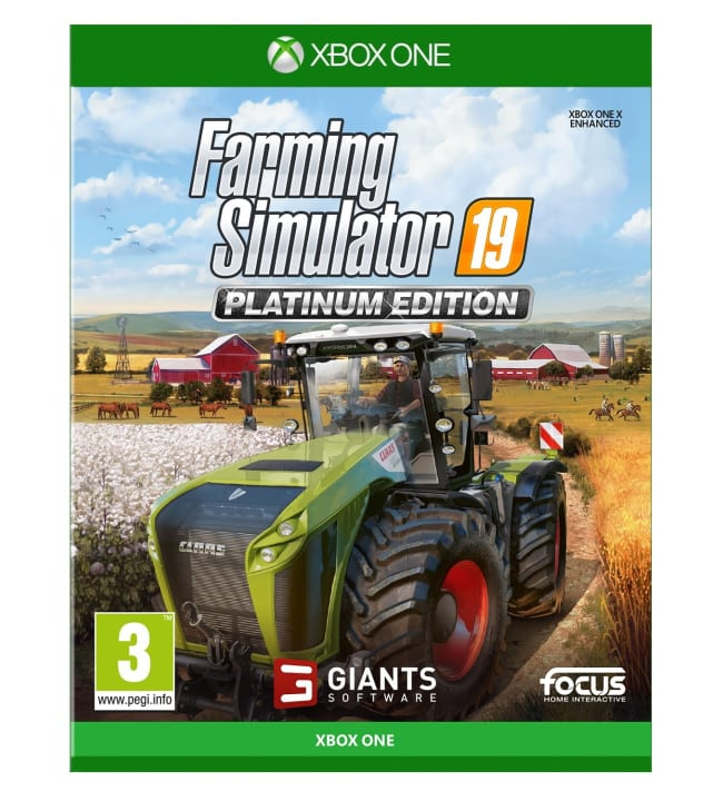 Farming Simulator 19: Platinum Edition Xbone