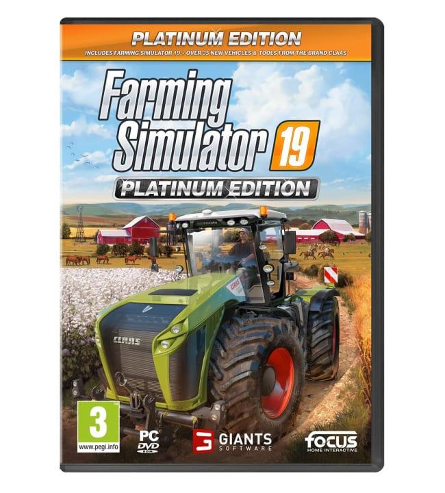 Farming Simulator 19: Platinum Edition PC