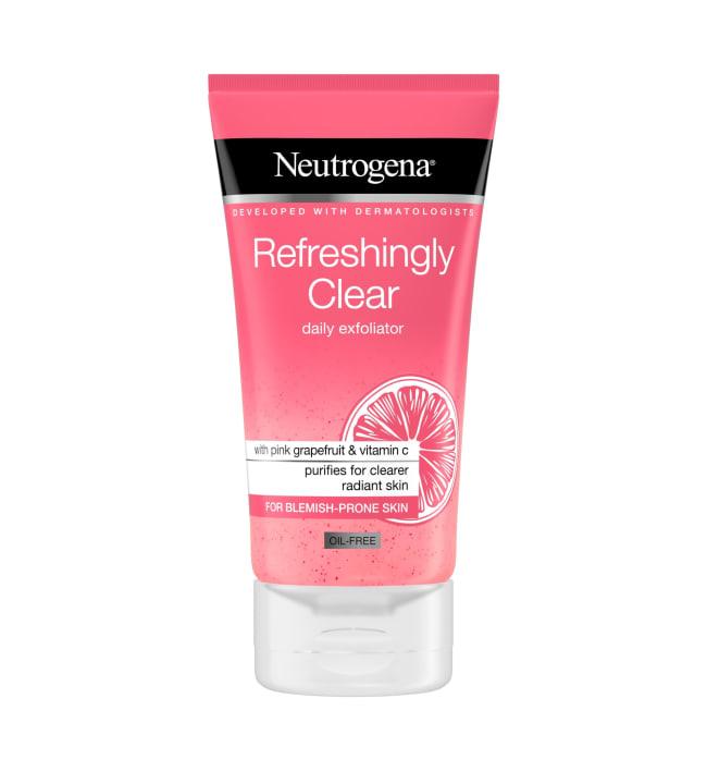 Neutrogena Refreshingly Clear Daily Exfoliator 150 ml kuorintavoide