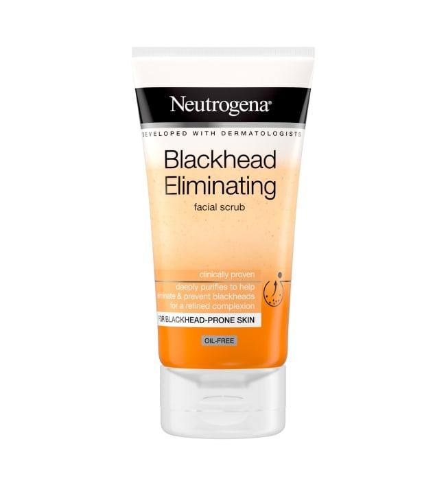 Neutrogena Blackhead Eliminating Facial Scrub 150 ml kuorintavoide