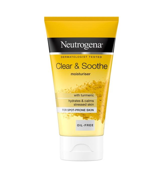 Neutrogena Clear & Soothe Moisturiser 75 ml kosteusvoide
