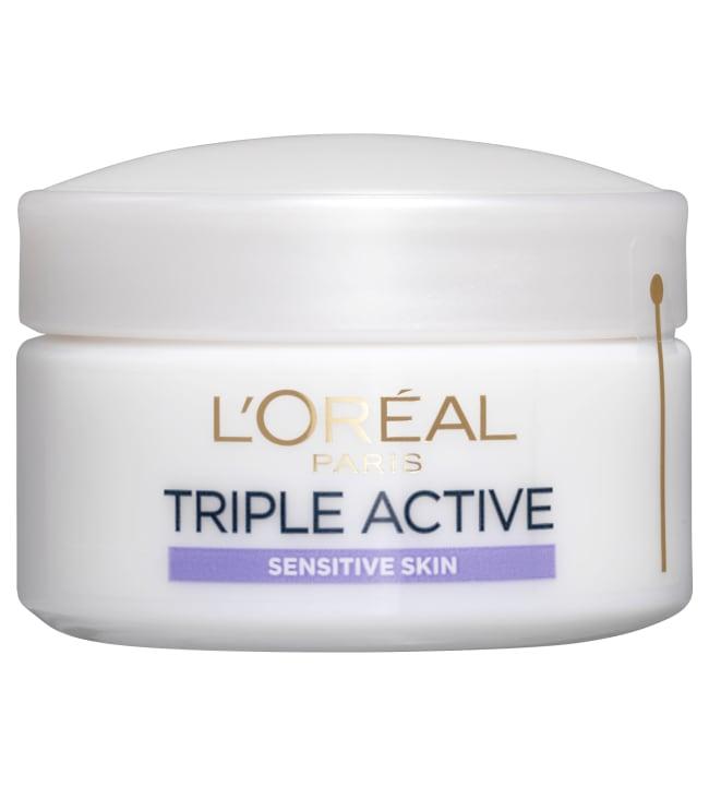 L'Oréal Triple Active Sensitive päivävoide