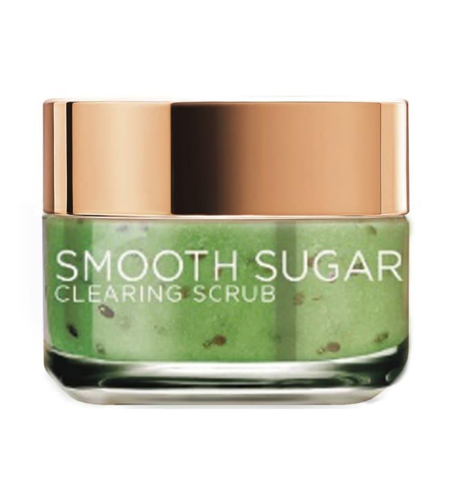 L'Oréal Paris Smooth Sugars Clearing 50 ml puhdistava sokerikuorinta