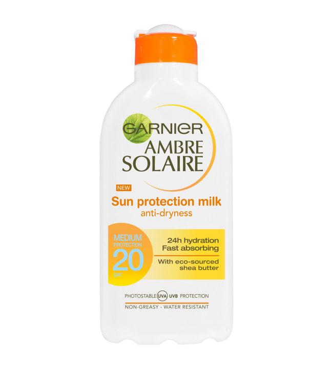 Garnier Ambre Solaire SK20 200 ml aurinkosuojaemulsio