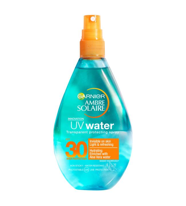 Garnier Ambre Solaire 150 ml UV Water SK 30 aurinkosuojasuihke