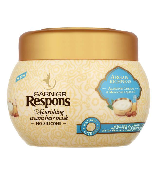 Garnier Respons Argan Richness 300 ml hiusnaamio erittäin kuiville hiuksille