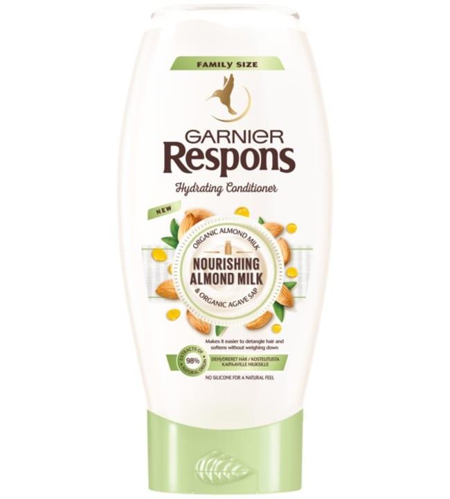 Garnier Respons Almond Milk 400 ml hoitoaine