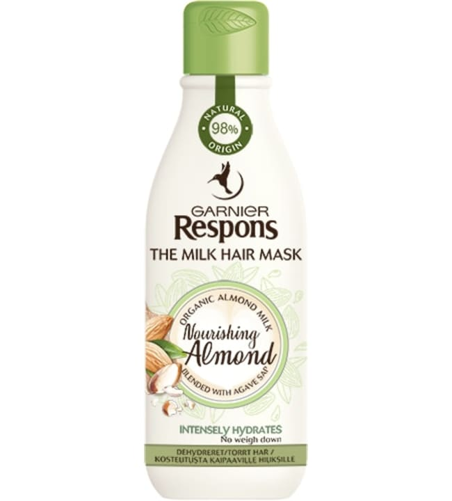 Respons The Milk Hair Mask Nourishing Almond 250 ml hiusnaamio