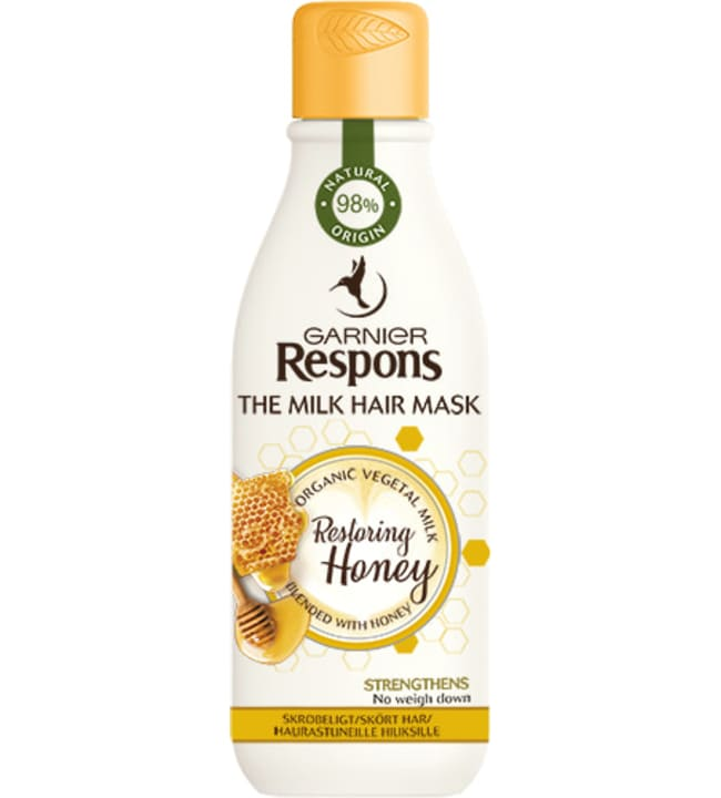 Respons The Milk Hair Mask Restoring Honey 250 ml hiusnaamio