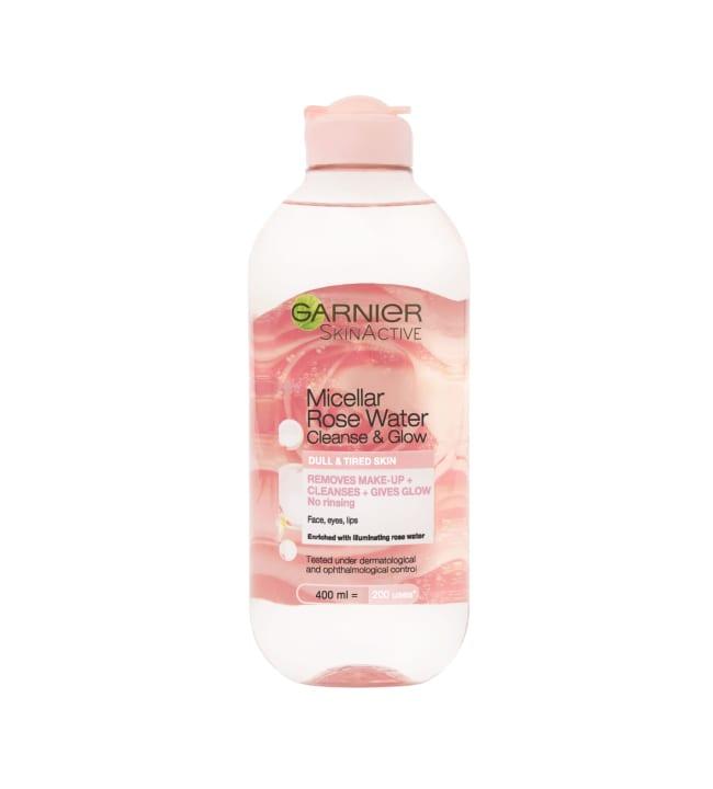 Garnier SkinActive Micellar Cleansing Rose Water 400 ml puhdistusvesi