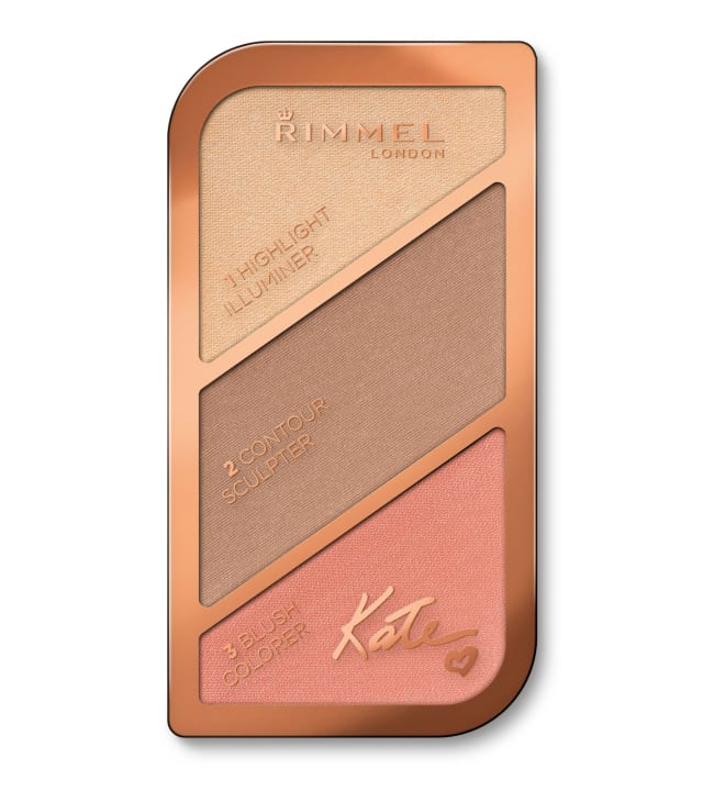 Rimmel by Kate Face Sculpting Palette 18,5 g poskipuna