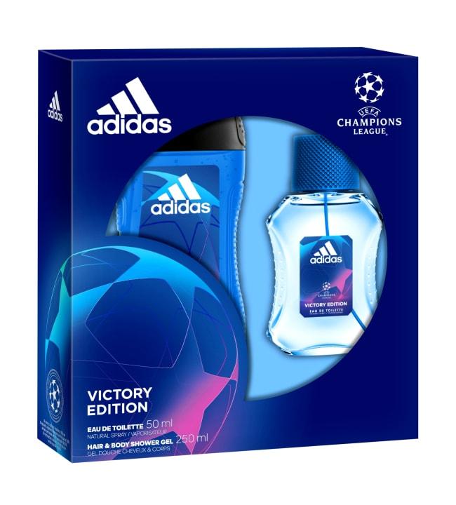 Adidas UEFA 5 EdT 50 ml + suihkugeeli 250 ml lahjapakkaus