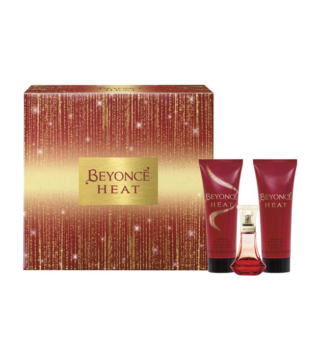 Beyonce Heat EdP 30ml + body lotion75ml + suihkugeeli 75ml lahjapakkaus