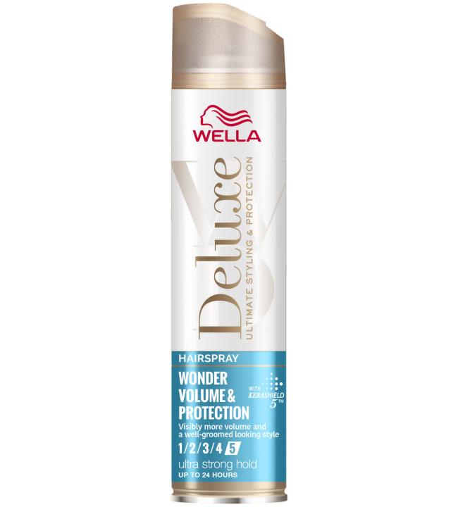 Wella Deluxe Wonder Volume Protection Ultra strong 250 ml hiuskiinne