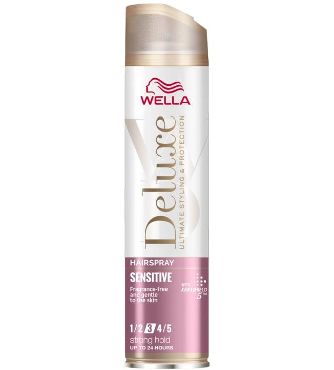 Wella Deluxe Sensitive Strong 250 ml hiuskiinne