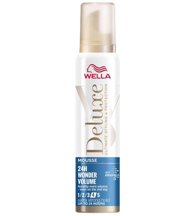 Wella Deluxe Wonder Volume Extra strong 75 ml muotovaahto