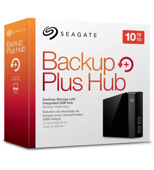 Seagate Backup Plus Hub 10TB ulkoinen kiintolevyasema